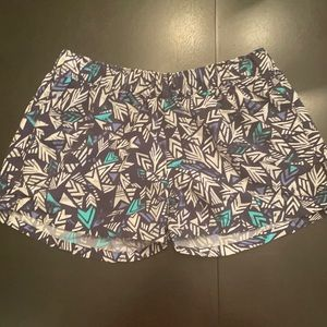 Super cute patterned Patagonia shorts